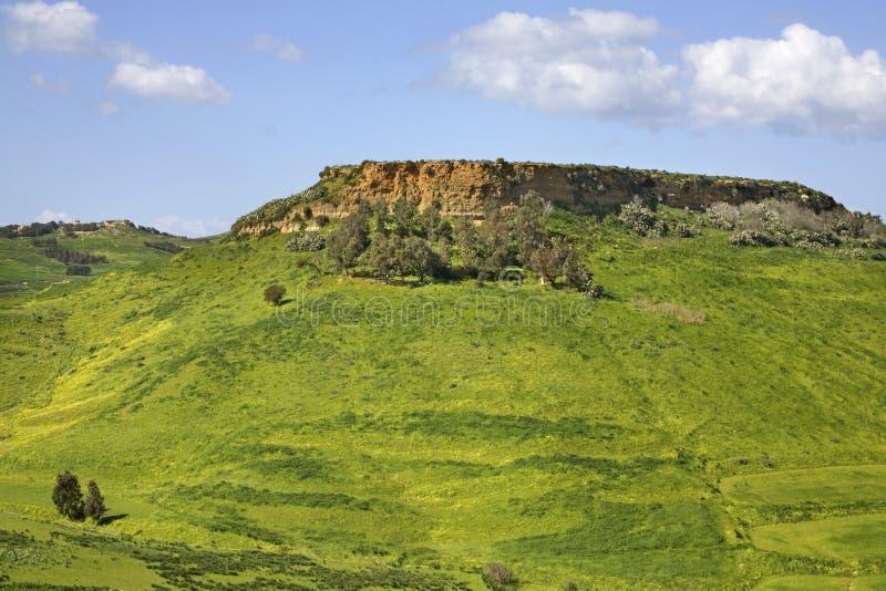 Landskap nära Victoria Gozo ö malta fotografering för bildbyråer