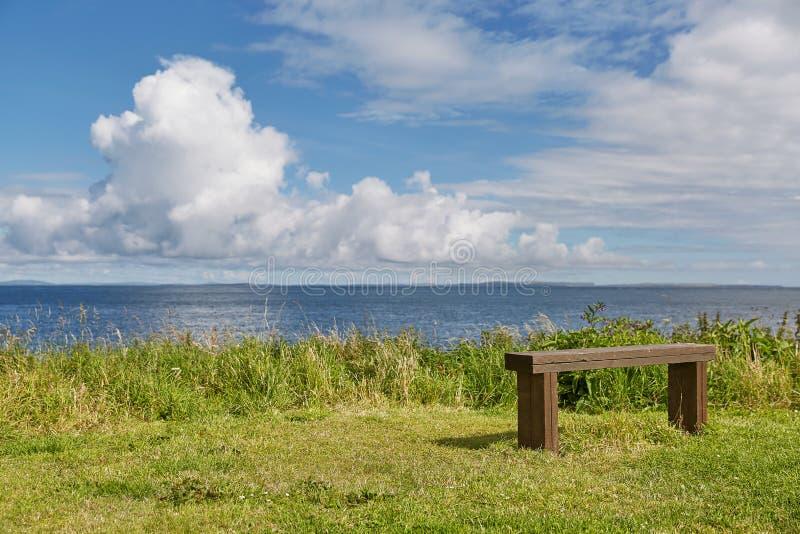 Landskap och koppla avsikt nära område för John nolla-'gryn Nordliga viktig mest fastland av Skottland arkivfoton