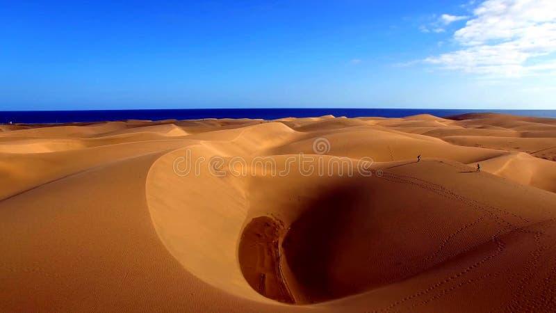 Landskap och sikt av härliga Gran Canaria på kanariefågelöar, Spanien arkivfoton