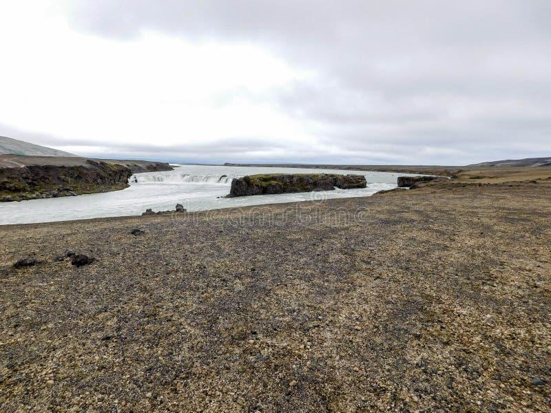 Landskap på ön arkivfoto