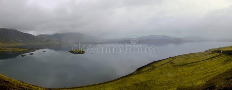 Landskap på ön arkivbild