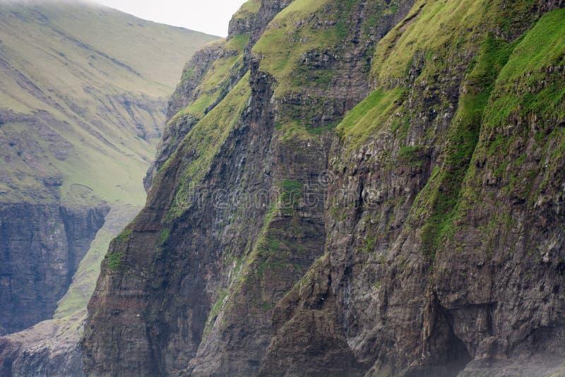 Landskap på Faroeen Island fotografering för bildbyråer