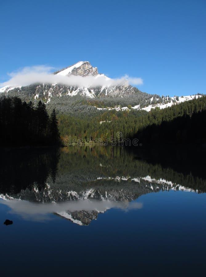 Download Landskap På Laken Obersee, Glarus Fotografering för Bildbyråer - Bild av reflexion, maximum: 27284883