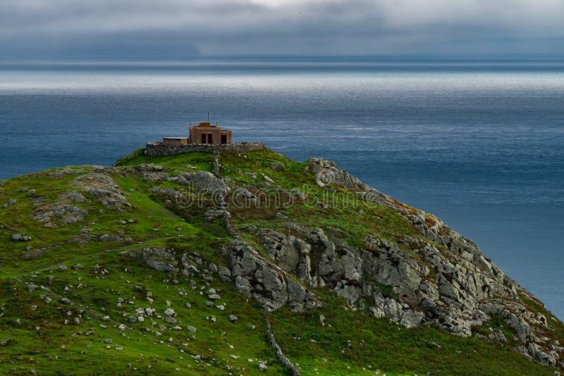 Landskap runt om Torrhuvudet som är nordligt - Irland royaltyfria foton