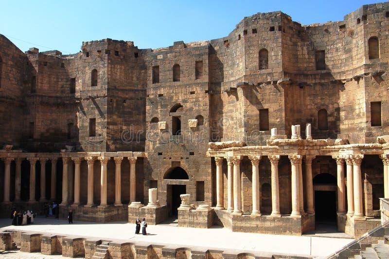 landskap syria royaltyfri foto