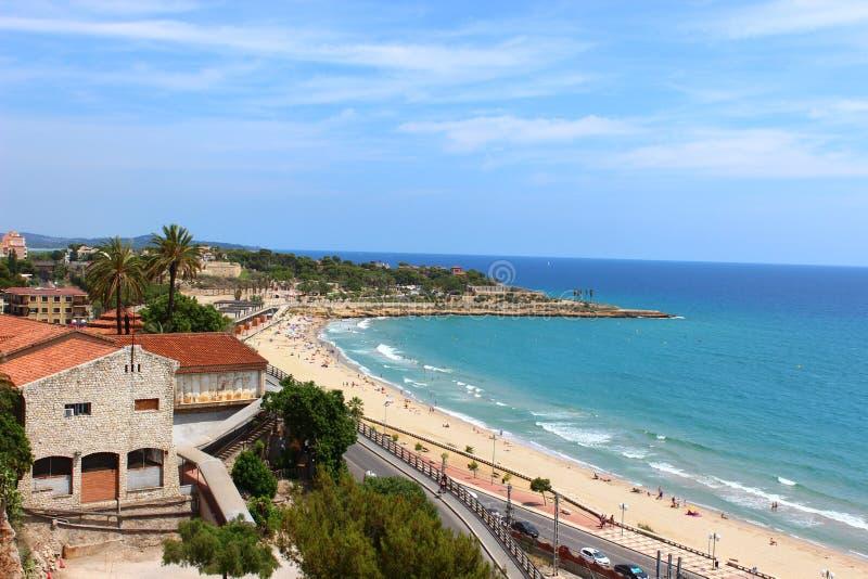 Landskap Tarragona arkivfoto