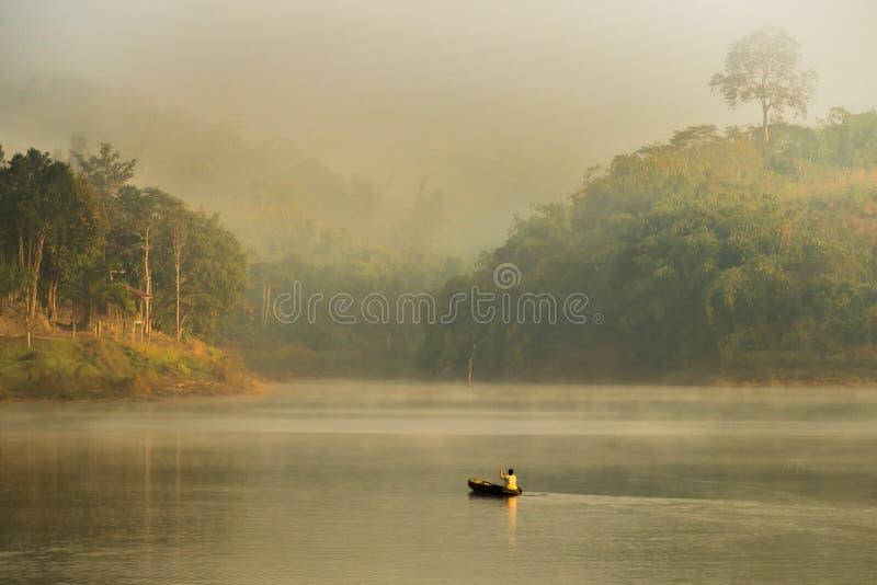 Landskap Thailand royaltyfria bilder