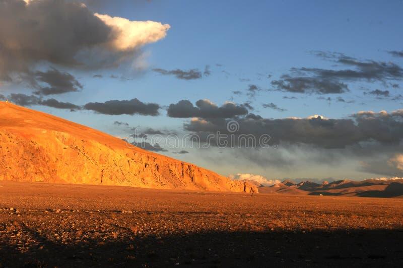landskap tibet arkivbild