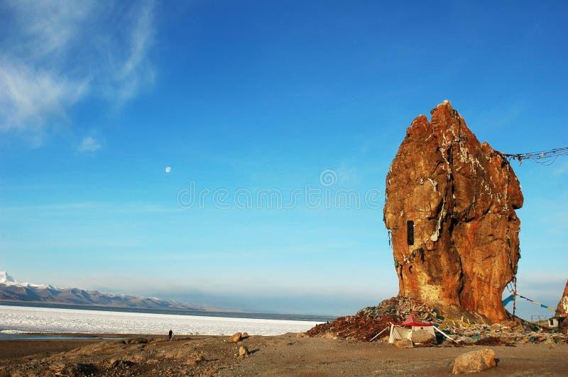landskap tibet royaltyfria bilder