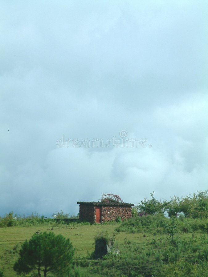 landskap yunnan royaltyfria foton