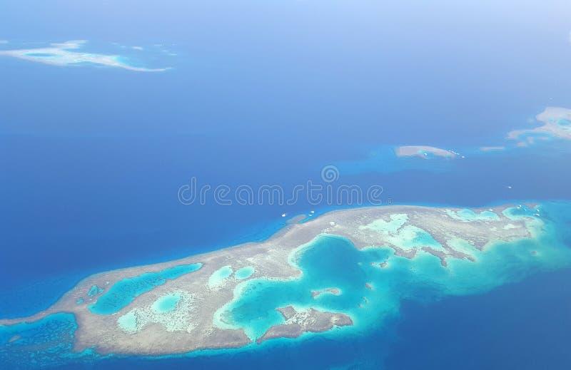 Landskapet från höjden royaltyfria foton