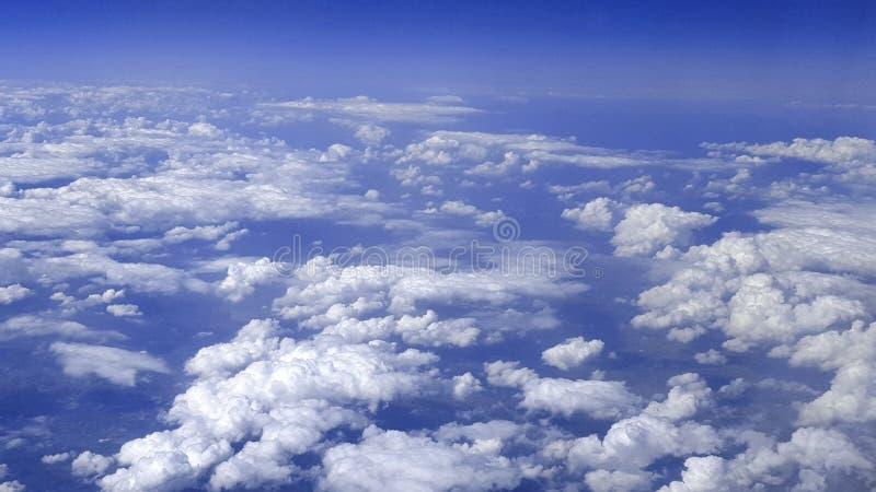Landskapet från höjden arkivbild