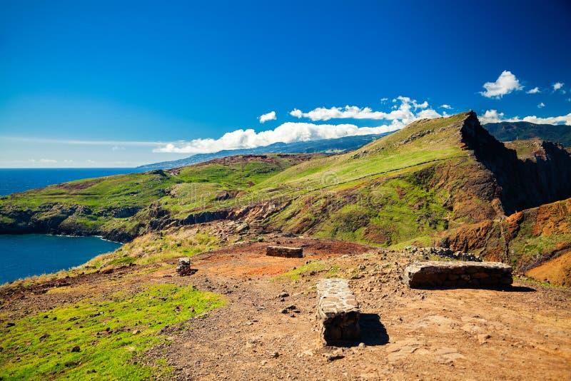 Landskapet på Ponta gör Sao Lourenco royaltyfri bild