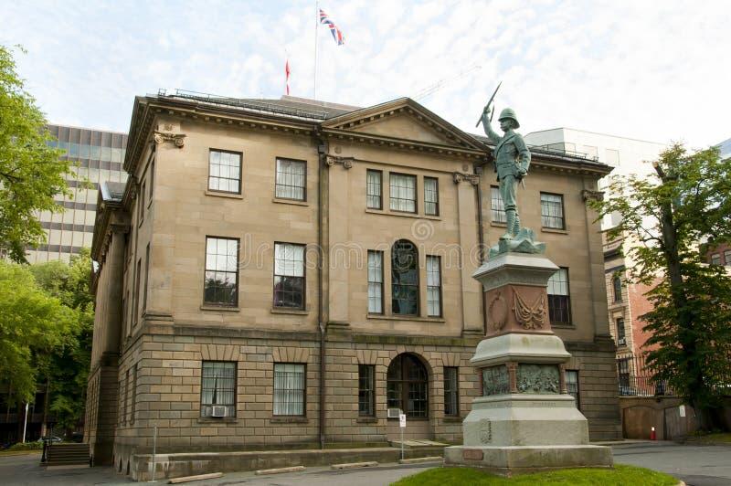 Landskaphus - Halifax - Kanada arkivfoto