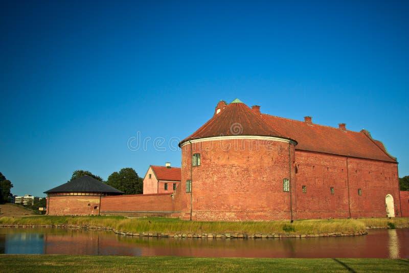 Landskona城堡  免版税图库摄影