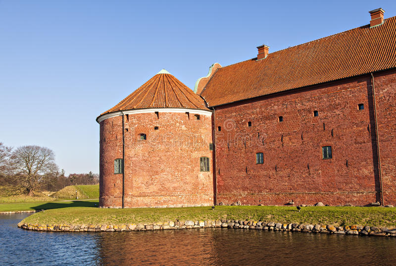 Landskrona cytadela zdjęcie royalty free