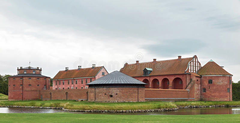 Landskrona cytadela, Szwecja fotografia stock