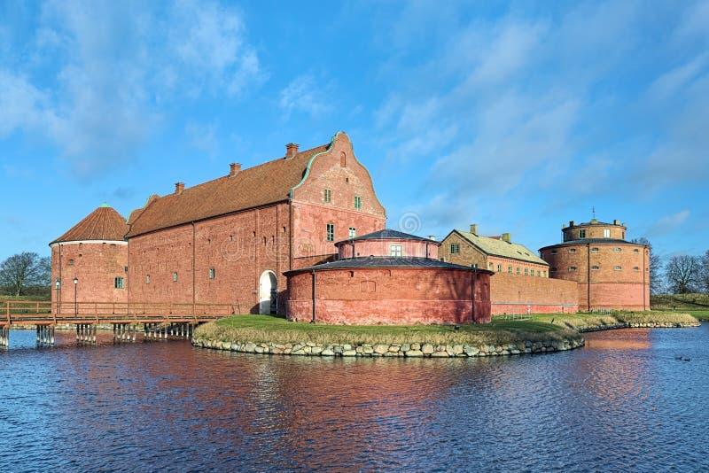 Landskrona cytadela, Szwecja zdjęcia royalty free