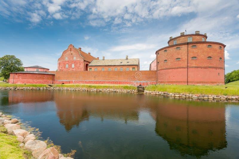 Landskrona kasztel, Szwecja zdjęcia stock