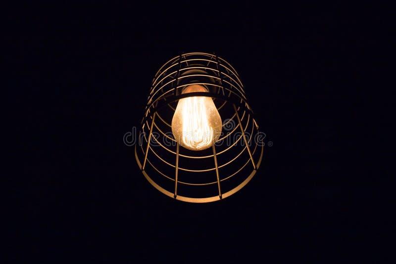 Landslampan royaltyfria foton