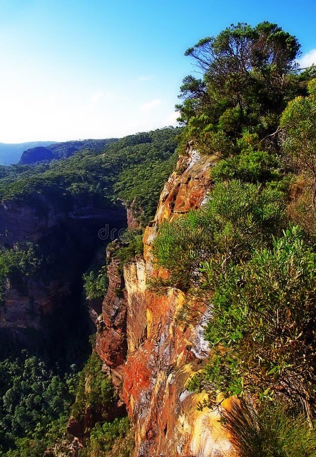 Landslide Lookout, Katoomba, Blue Mountains Stock Photo