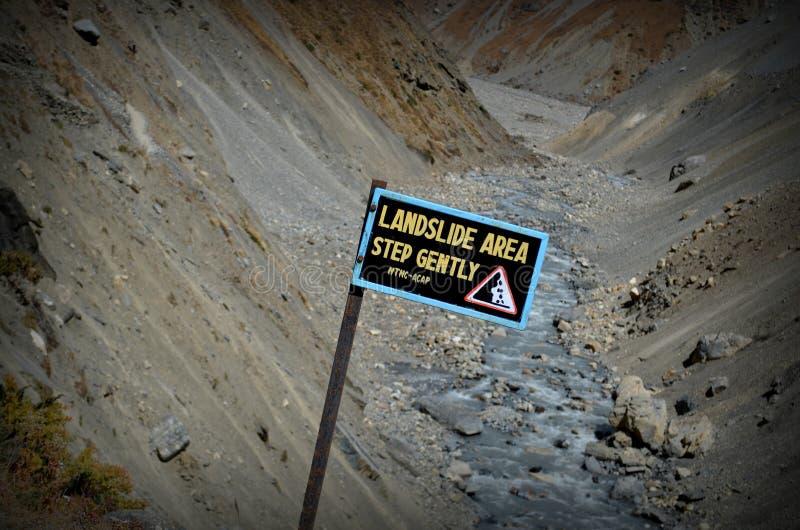 Landslide royalty free stock image