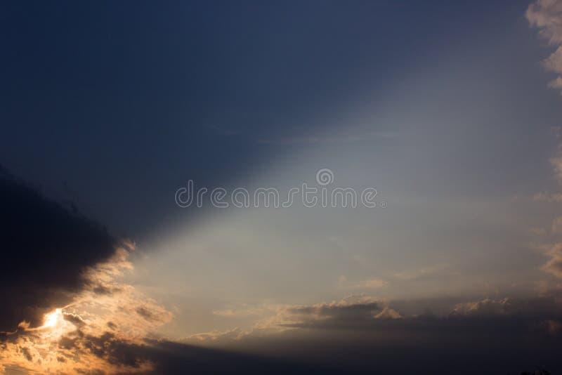 Landstreek van God stock foto