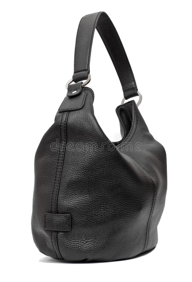 Landstreichertasche der schwarzen Frauen stockbild