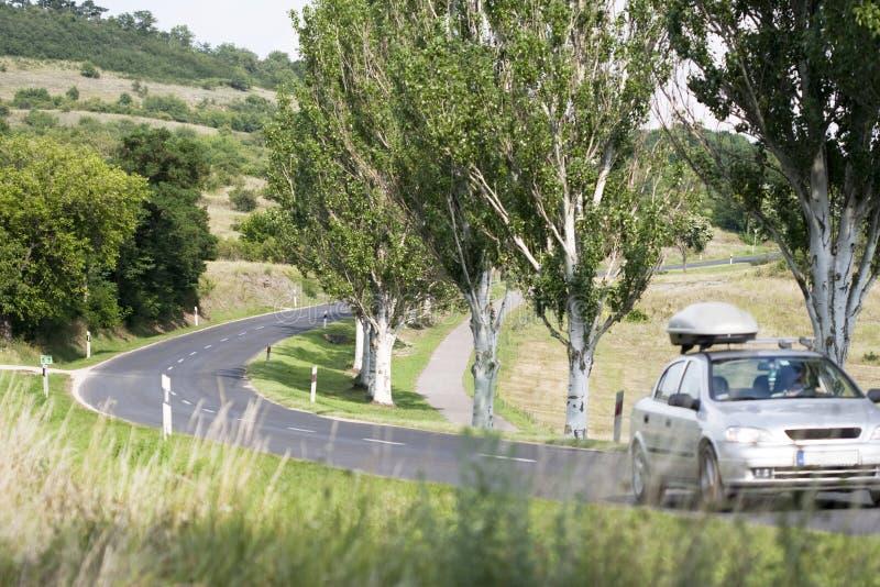Landsväg fotografering för bildbyråer