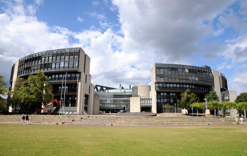 Landtag Düsseldorf obraz stock