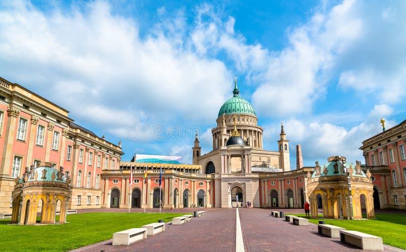 Landtag of het parlement van Brandenburg in Potsdam, Duitsland royalty-vrije stock fotografie