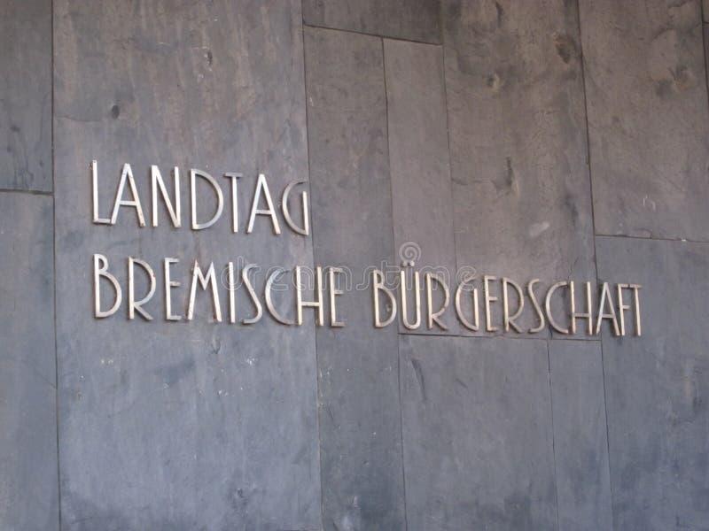 Landtag von Bremen, Bremische BÃ ¼ rgerschaft royalty-vrije stock fotografie