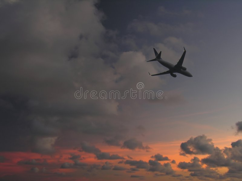 Landung lizenzfreies stockbild