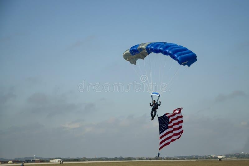 Landung USA lizenzfreie stockfotos