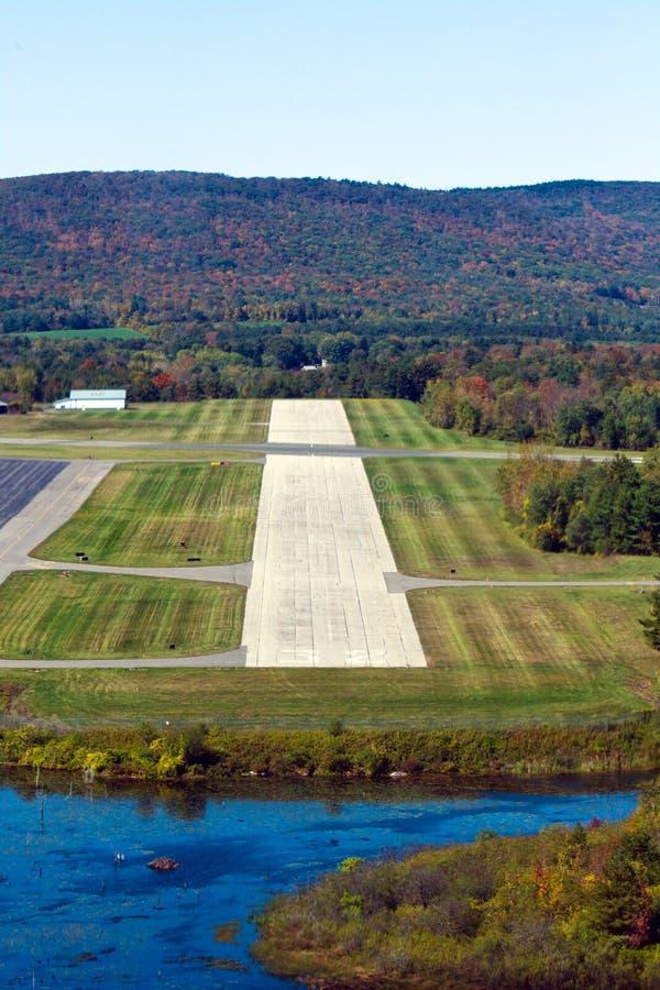 Landungsannäherung lizenzfreie stockbilder