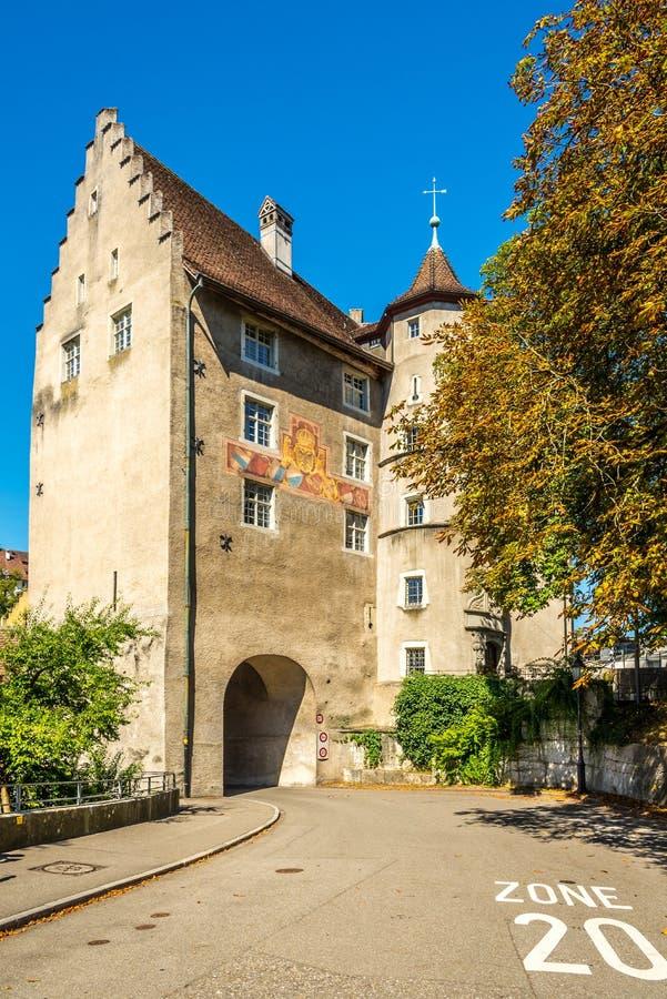Landvogteischloss Baden w Szwajcaria fotografia royalty free