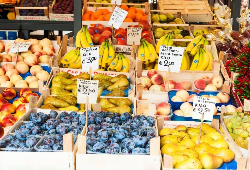 Landwirte vermarkten, Venedig stockbild