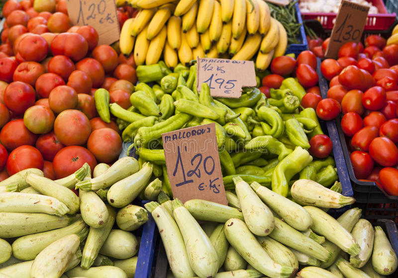 Landwirtmarkt stockfotografie