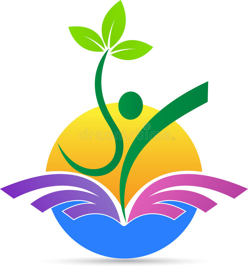 Landwirtschaft, Erfolgsvektorsymbol-Ikonendesign vektor abbildung
