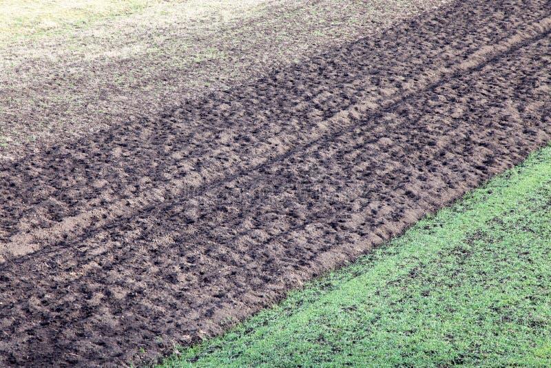 Landwirtschaftliche Felder lizenzfreies stockfoto
