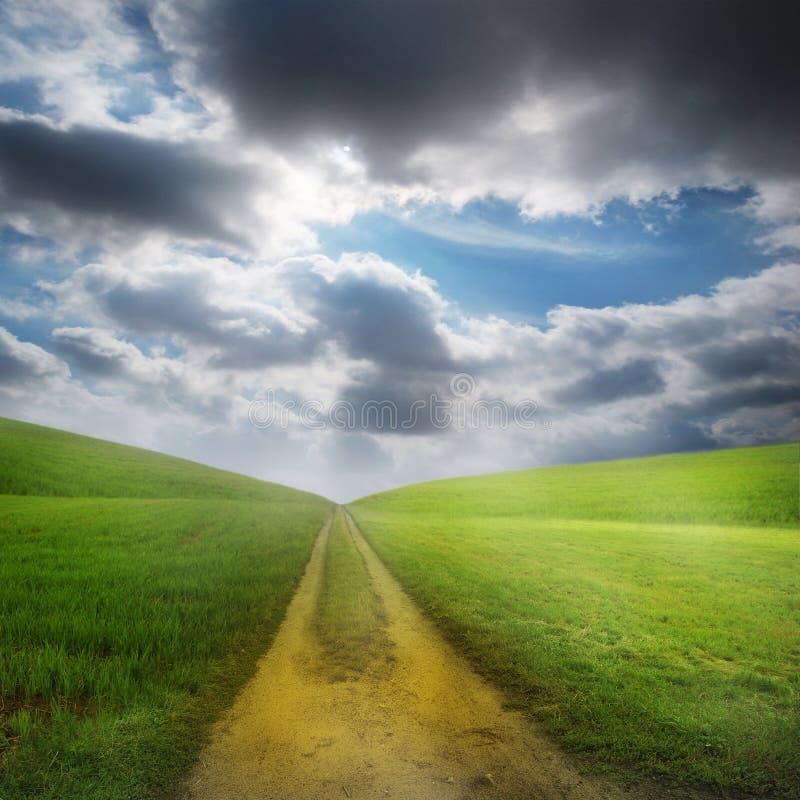 Landwirtschaftliche Landschaft lizenzfreie stockfotos
