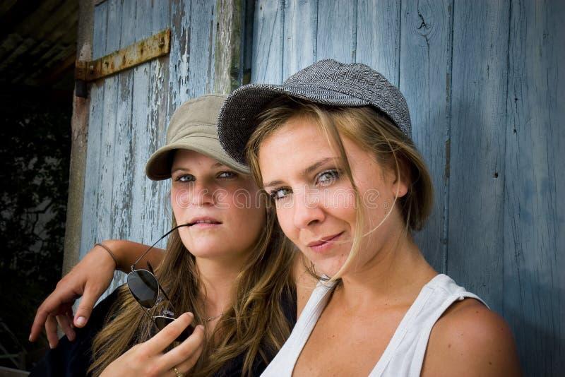 Landwirtschaftliche Mädchen stockfoto