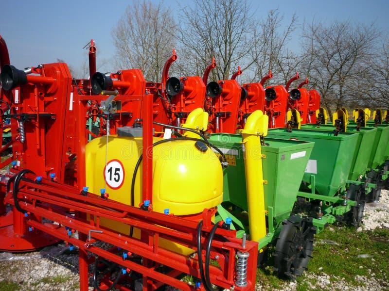 Landwirtschaftliche Maschinerie lizenzfreies stockfoto