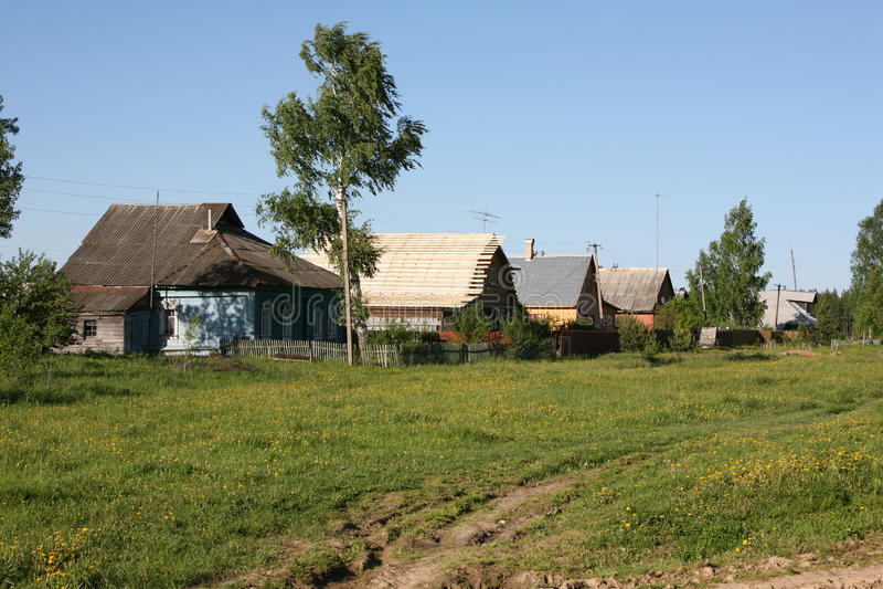 Landwirtschaftliche Szene lizenzfreies stockbild