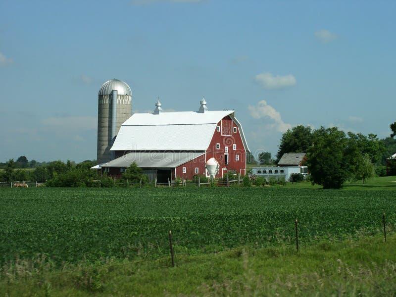 Landwirtschaftlicher Farmstead lizenzfreies stockfoto