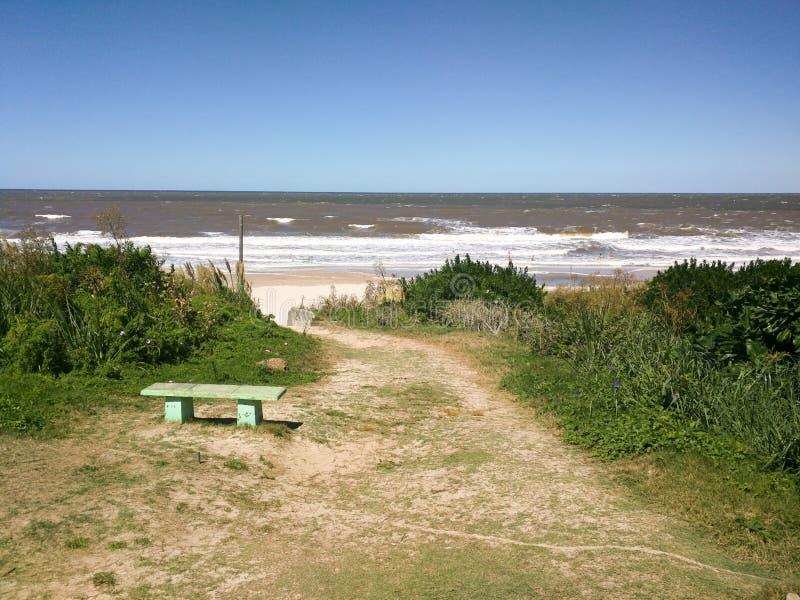 Landwirtschaftlicher Strand stockbilder