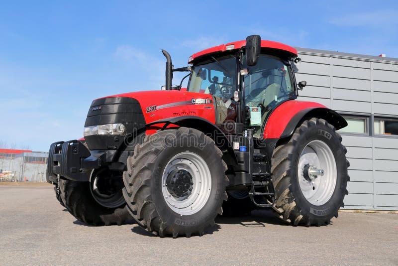Landwirtschaftlicher Traktor DLs CVX des Fall-IH des Puma-230 stockbilder