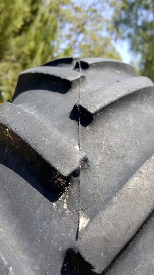 Landwirtschafts-LKW-Reifen-Profil nicht für den Straßenverkehr stockbild