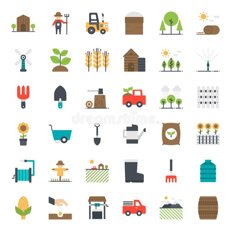 Landwirtschaftsikone stock abbildung