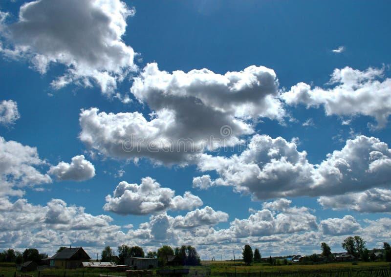 Landwolken stockbild